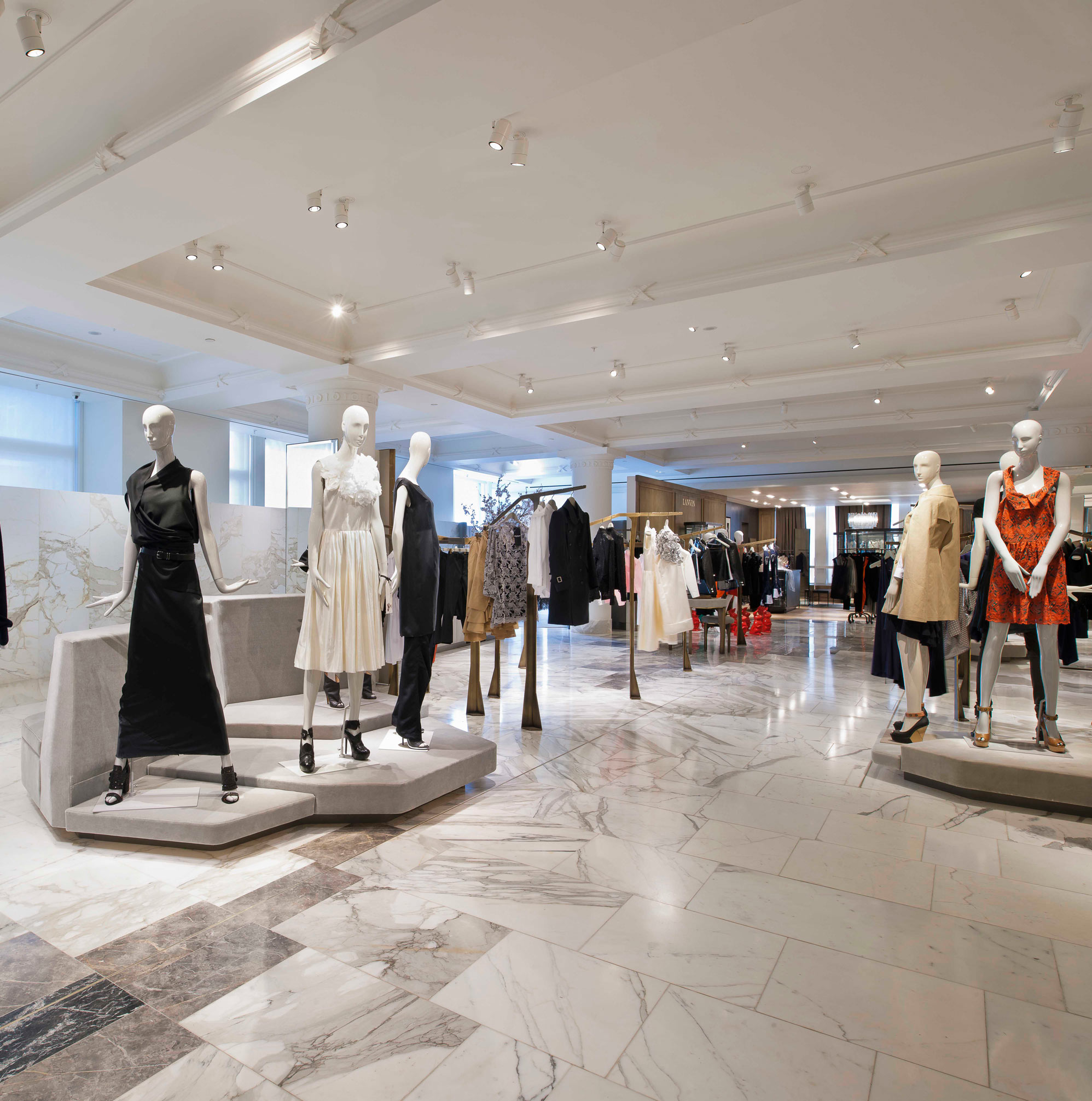 selfridges designer floor